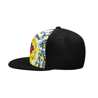 SC Higher Vision Printed Snapback Cap - Black