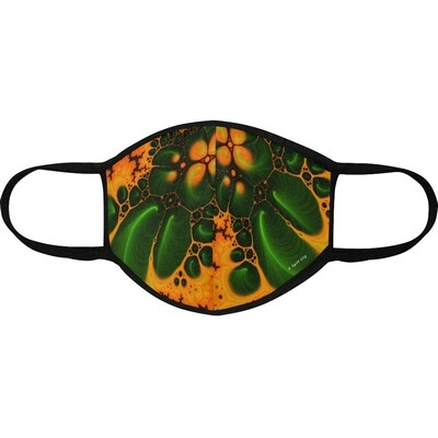 Abstraction - Orange-Green - MO3 Protective Mask