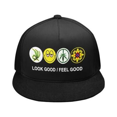 SC Icons Snapback Cap - Black