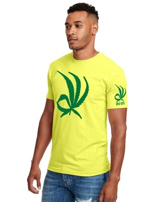 Weed It's Ok Mens Statement Tee