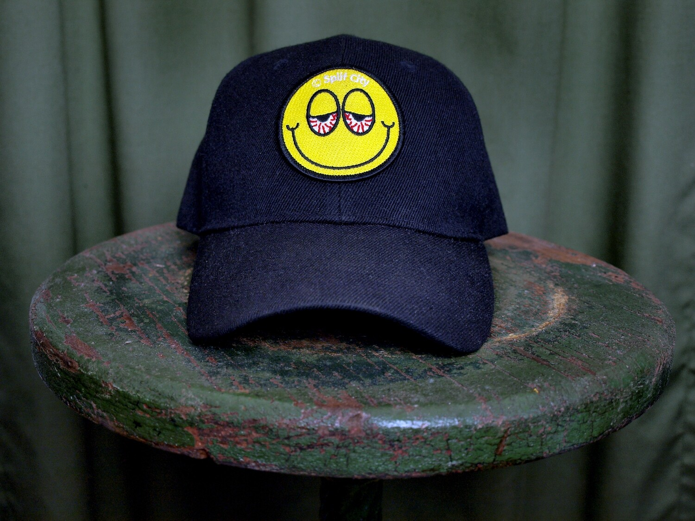 SC Blurred Eyed Emoji - Baseball Cap