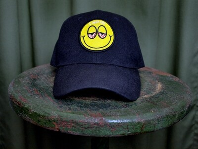 SC Blurred Eyed Emoji - Baseball Cap