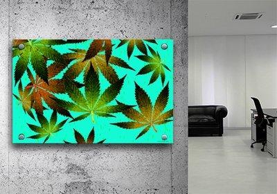 Splif City Leaves 20x30 Acrylic print