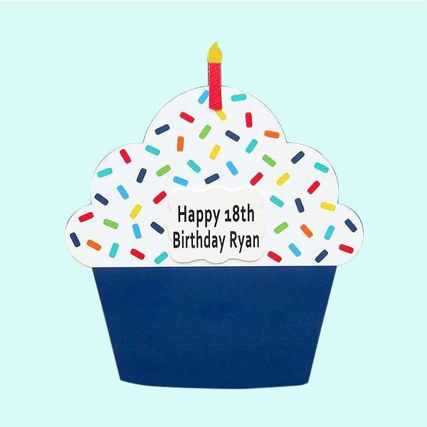 Blue Cupcake Rental