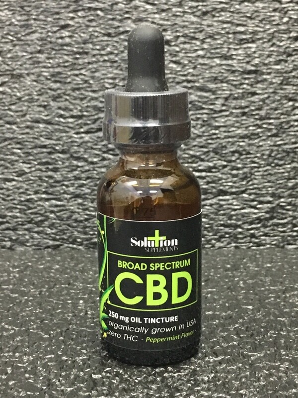 Broad Spectrum CBD Oil Tincture 250mg