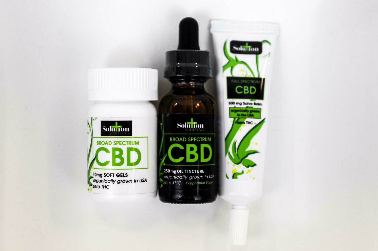 Broad Spectrum CBD Combo Pack