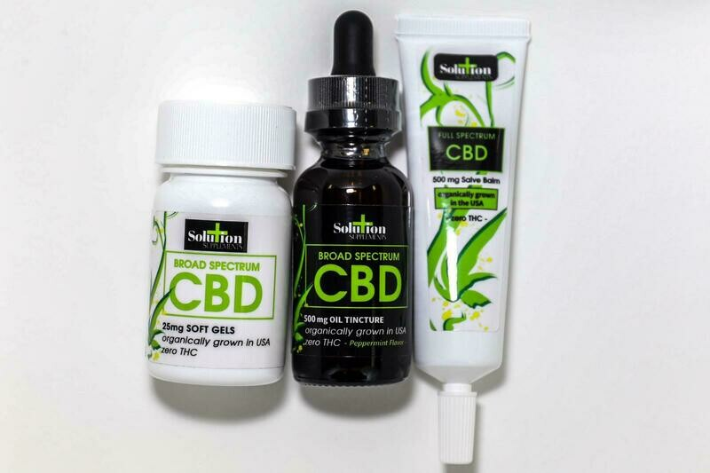 Broad Spectrum CBD MAX Pack