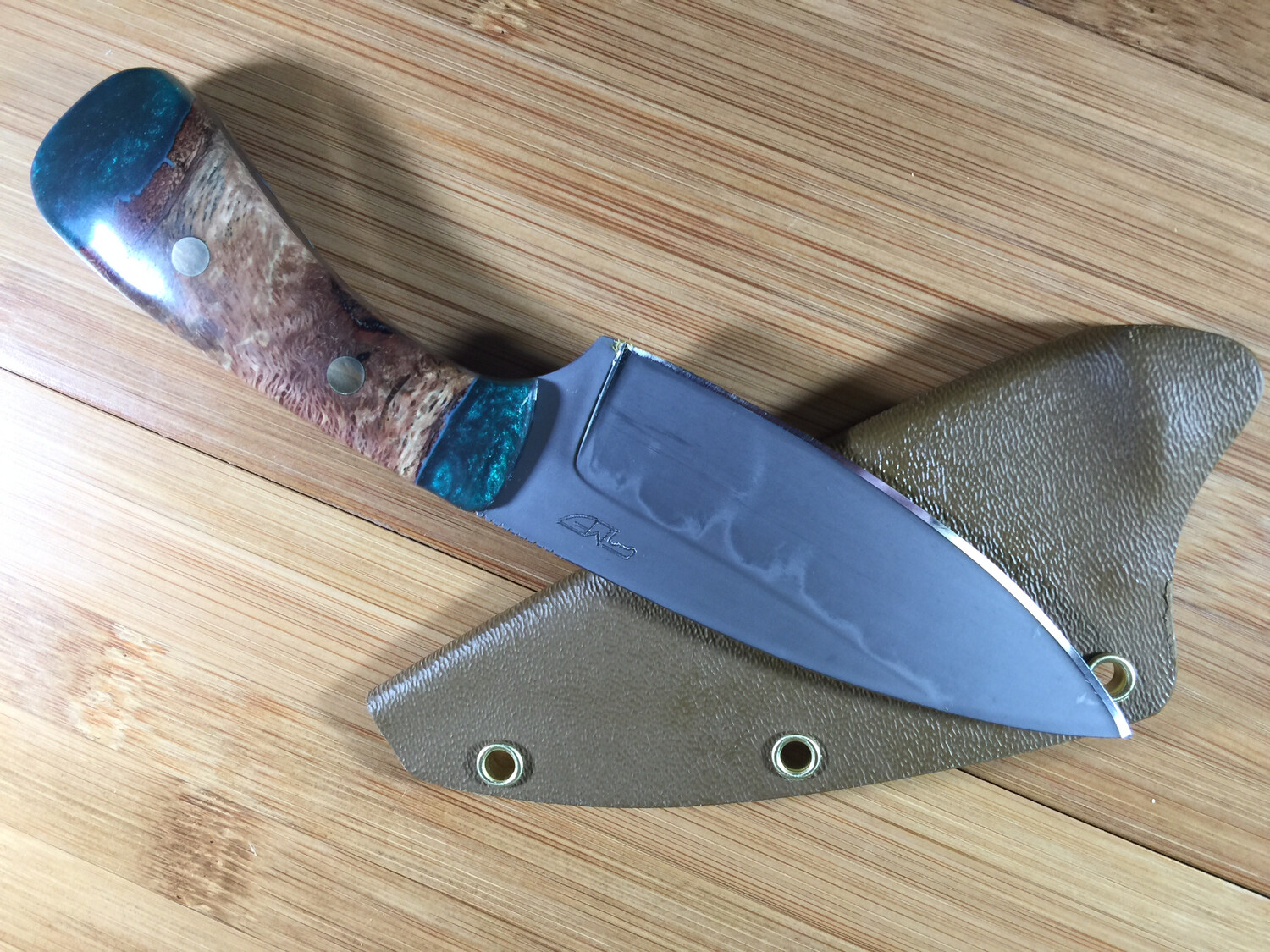 Knife - Custom Drop Point #6