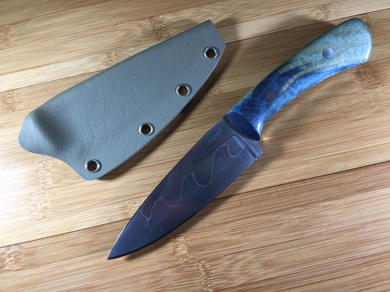 Knife - Custom Drop Point #9
