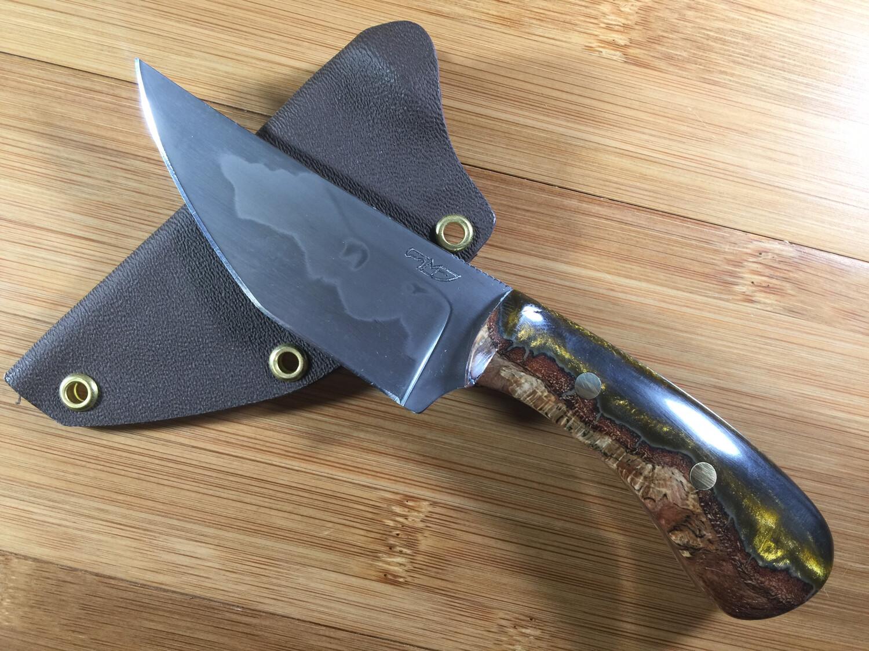 Knife - Custom Tanto Fighter #4