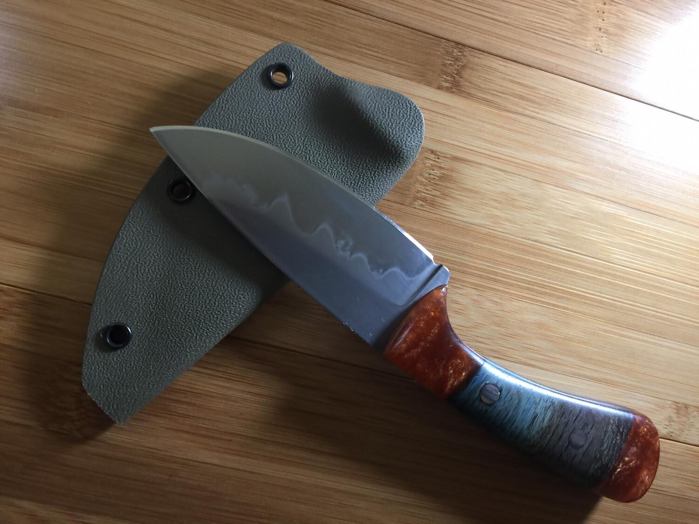 Knife - Custom Drop Point #1