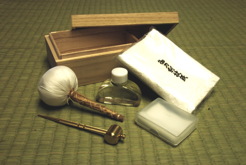 Sword Cleaning Kit - Deluxe