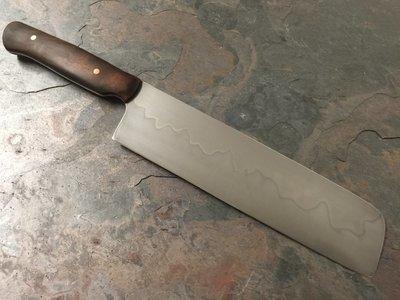 Knife - Custom Kitchen Nakiri #1