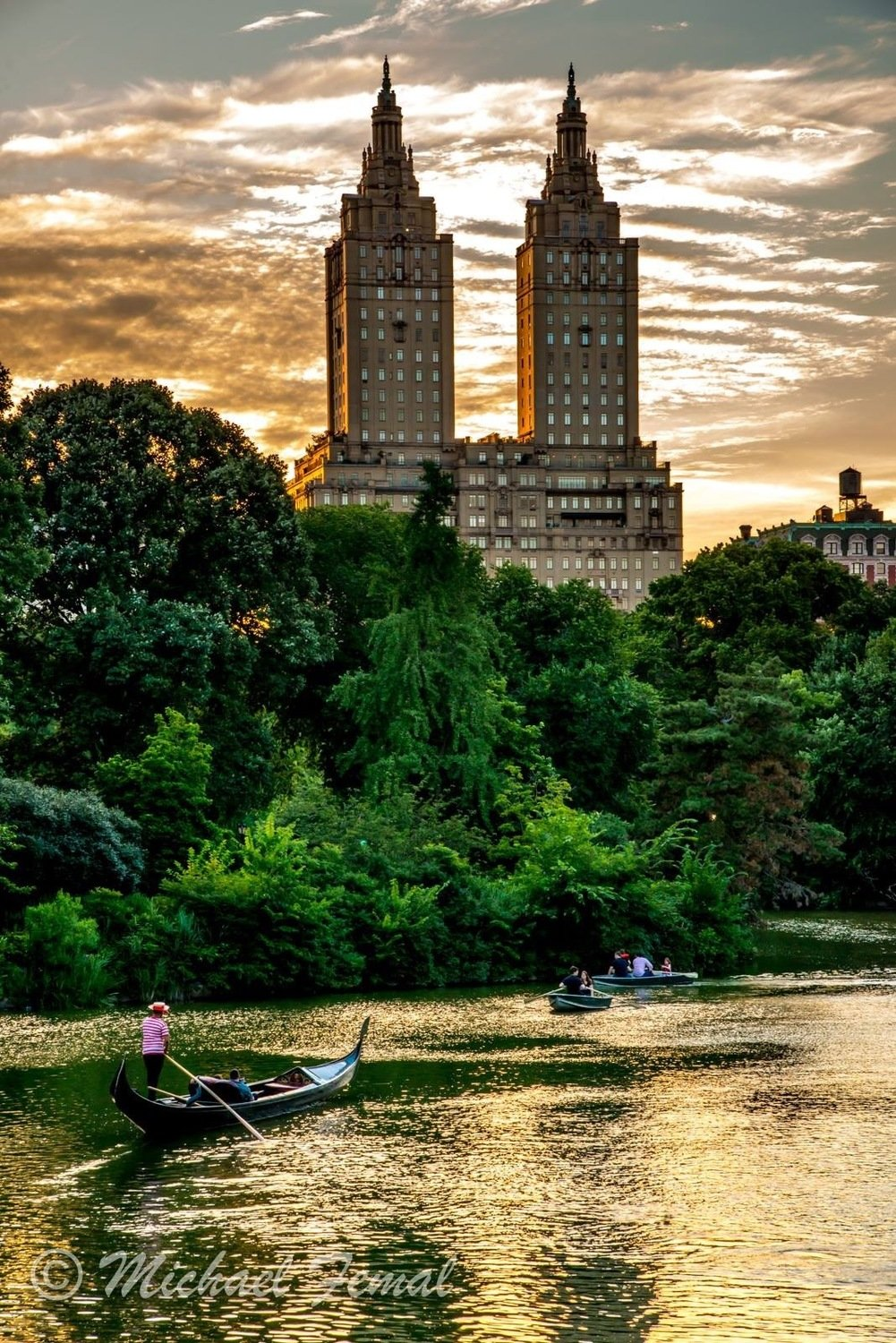 Print - NYC Sunset Gondola