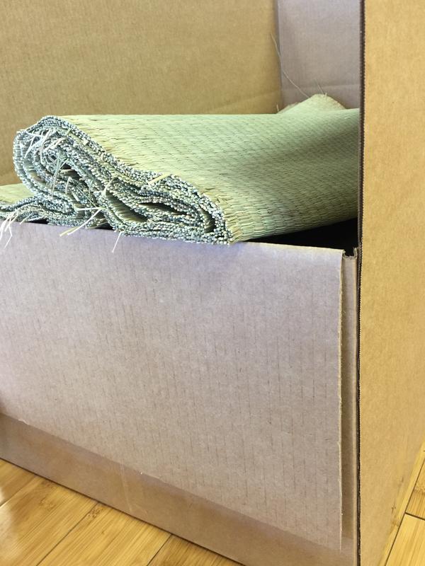Tatami Omote Target - Mugen Dachi (Box of 10)
