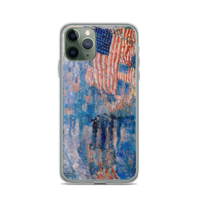 The Avenue In The Rain - iPhone Case