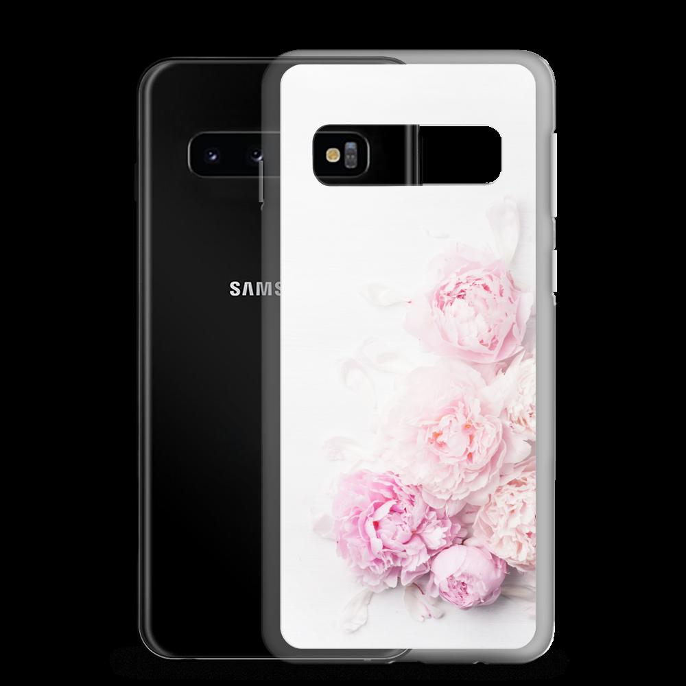 Pink Peony Flower - Samsung Case