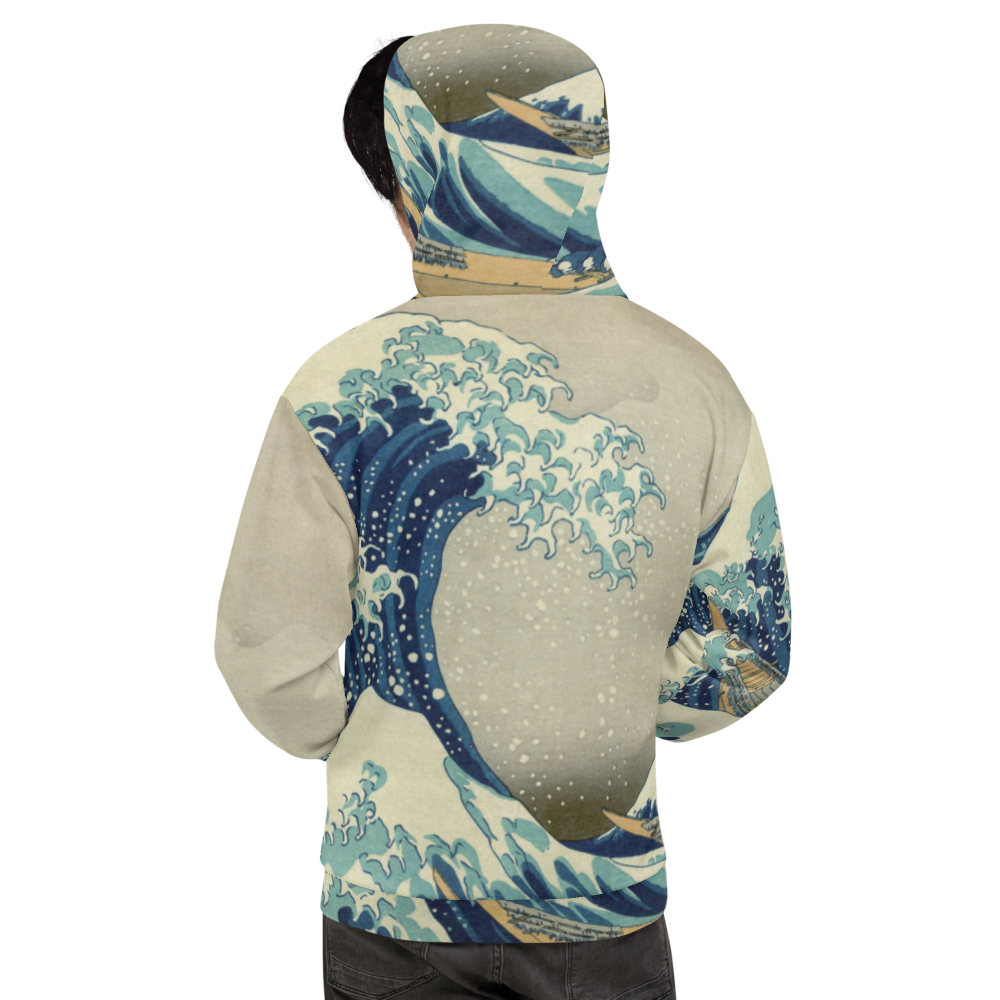 The Great Wave Off Kanagawa - Unisex Hoodie