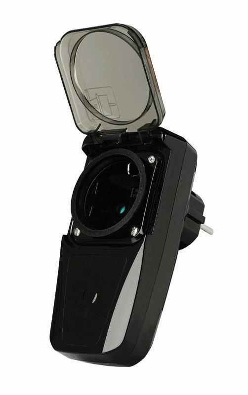 Pistorasia-adapteri - Langaton pistorasia IP44 3,5kW - Trust Smarthome 2806313