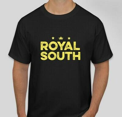 Royal South Black T-Shirt