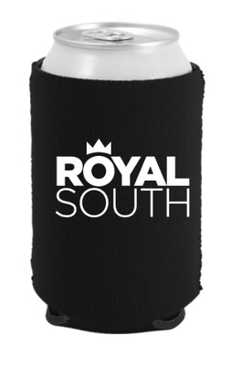 Royal South Black Koozie