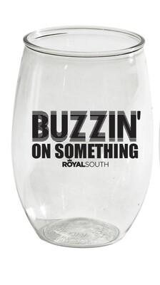 Buzzin' Wine Glass