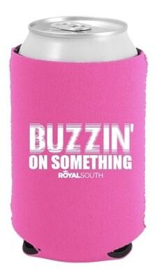 Pink Buzzin' Koozie