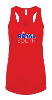 Ladies Red Royal South Tank