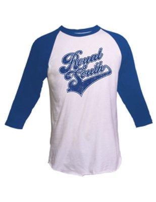 Royal South Baseball Tee