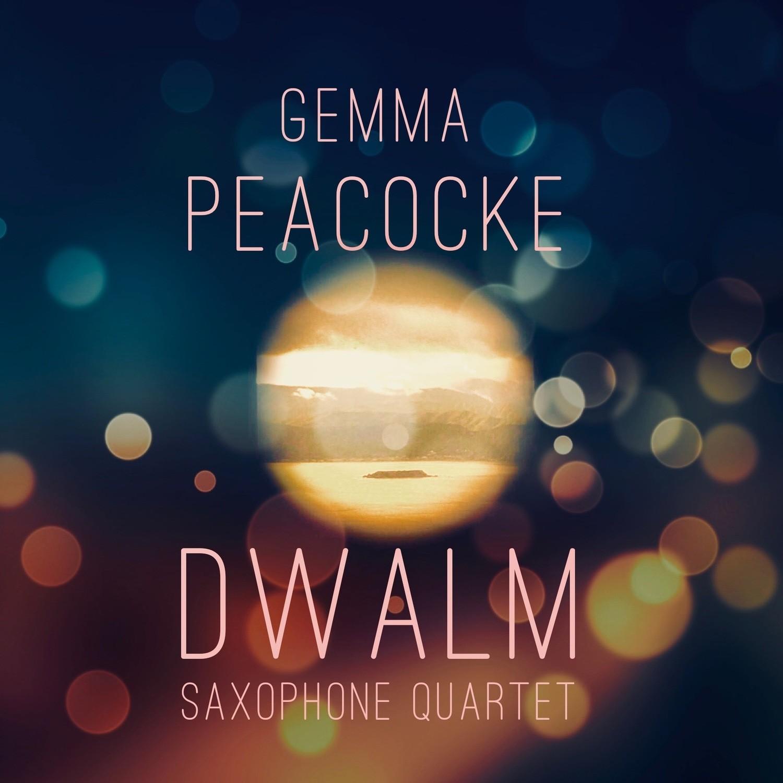Dwalm for saxophone quartet (hard copies - score and parts)