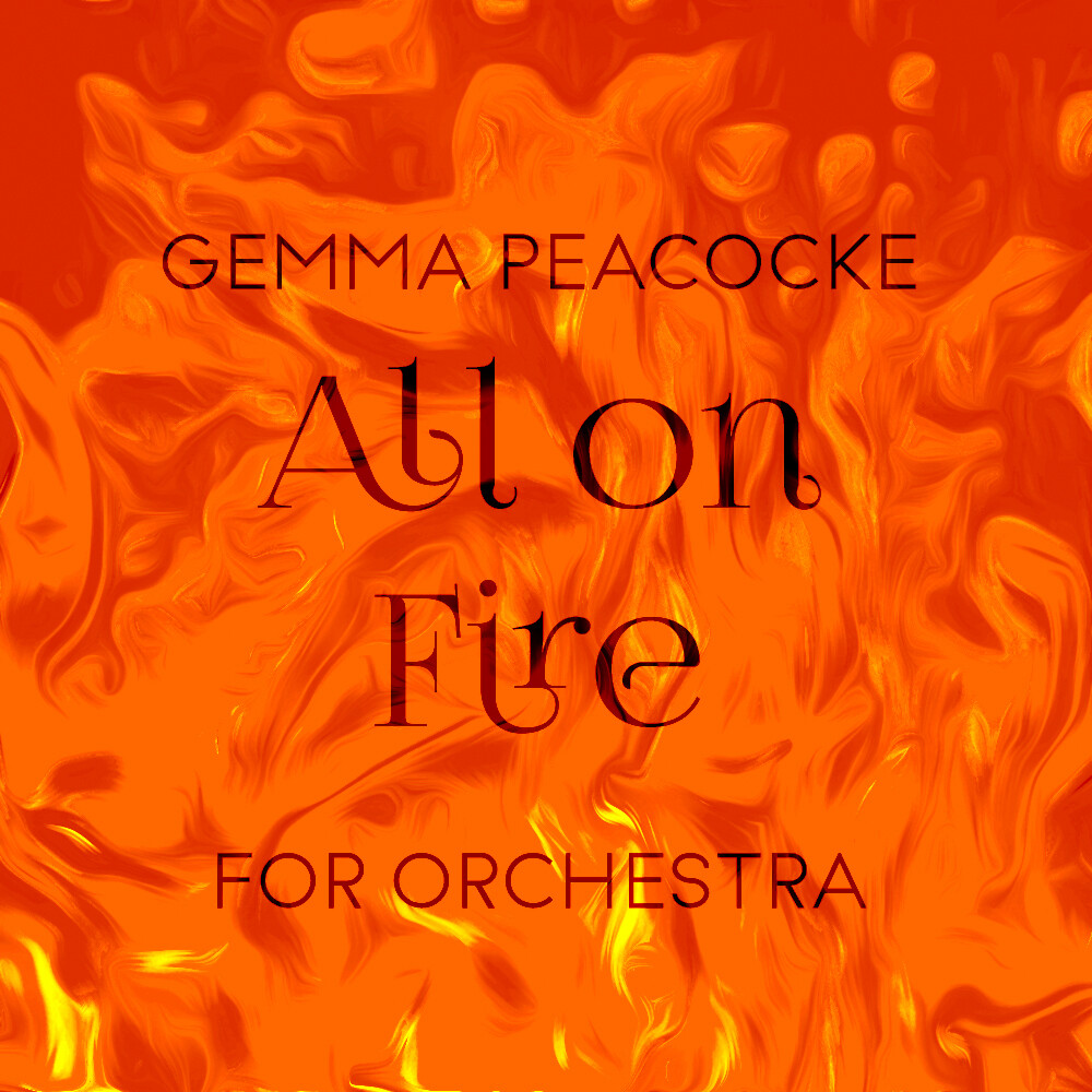 All on Fire (score and parts –rental)