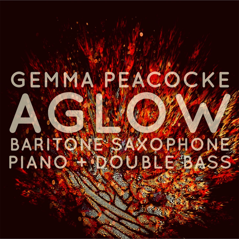 Aglow for bari sax / pno / db (hard copies - score and parts)