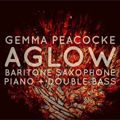 Aglow for bari sax / pno / db (hard copies - score and parts)
