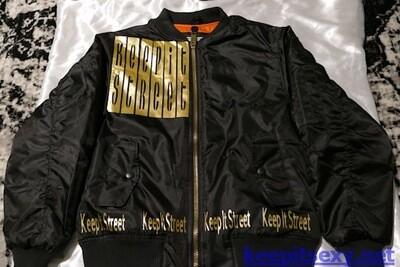Keep It Street Bomber Jacket