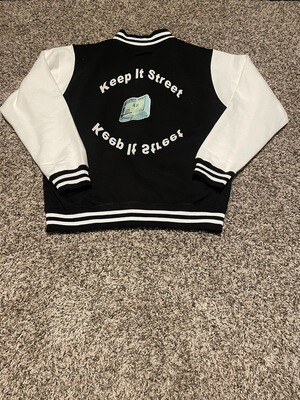 Keep It Street Varsity Jacket