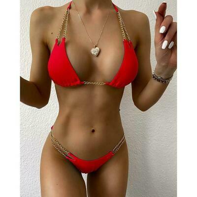 Micro Bikini with chain Swimsuit