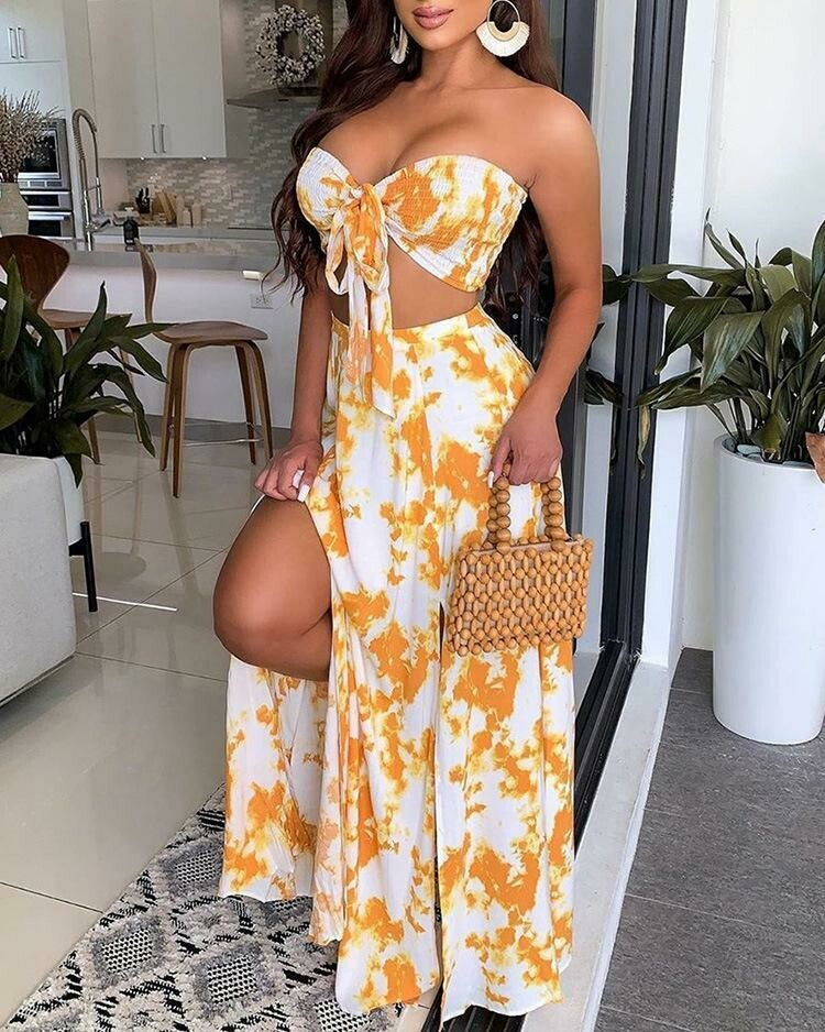 Off To the Hamptons Two-piece Set