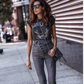 Never Fold High Waist Skinny Jeans