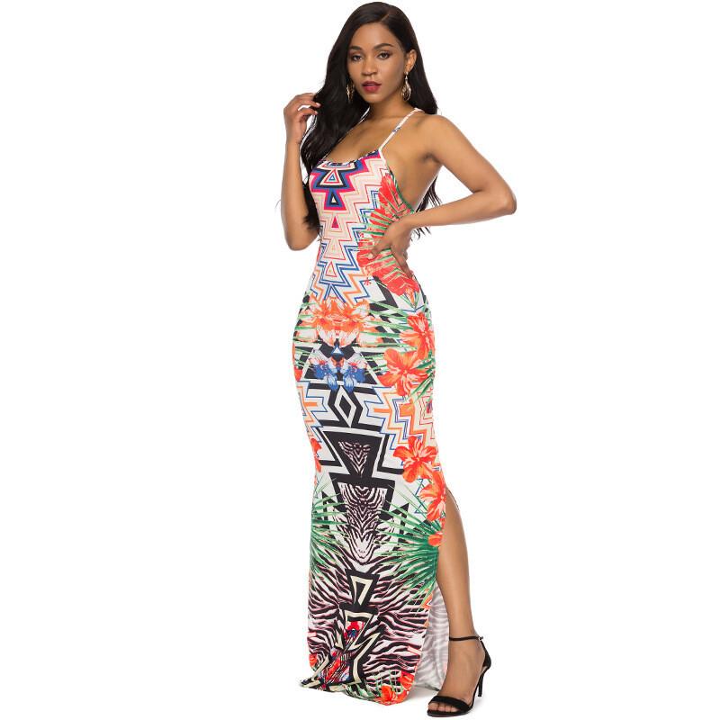 She Exotic Racer Back Dress