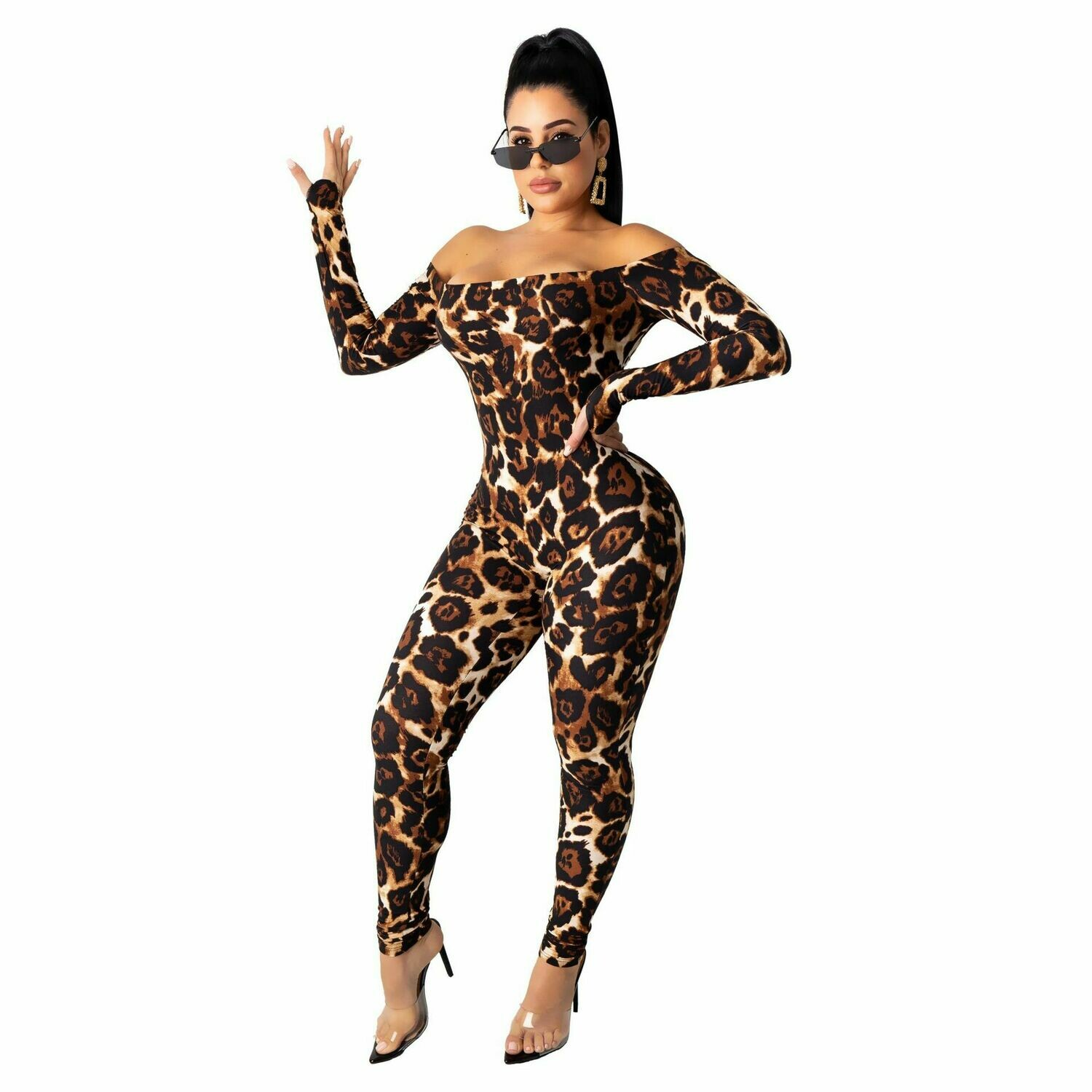 Check Me Out Cheetah Jumpsuit