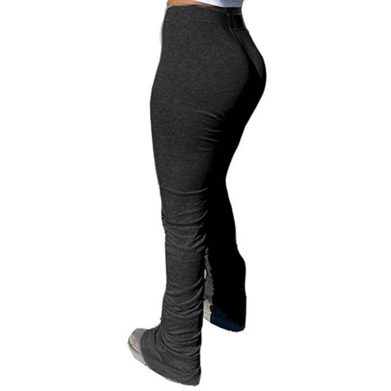 Stacked Leg Sweat Pants