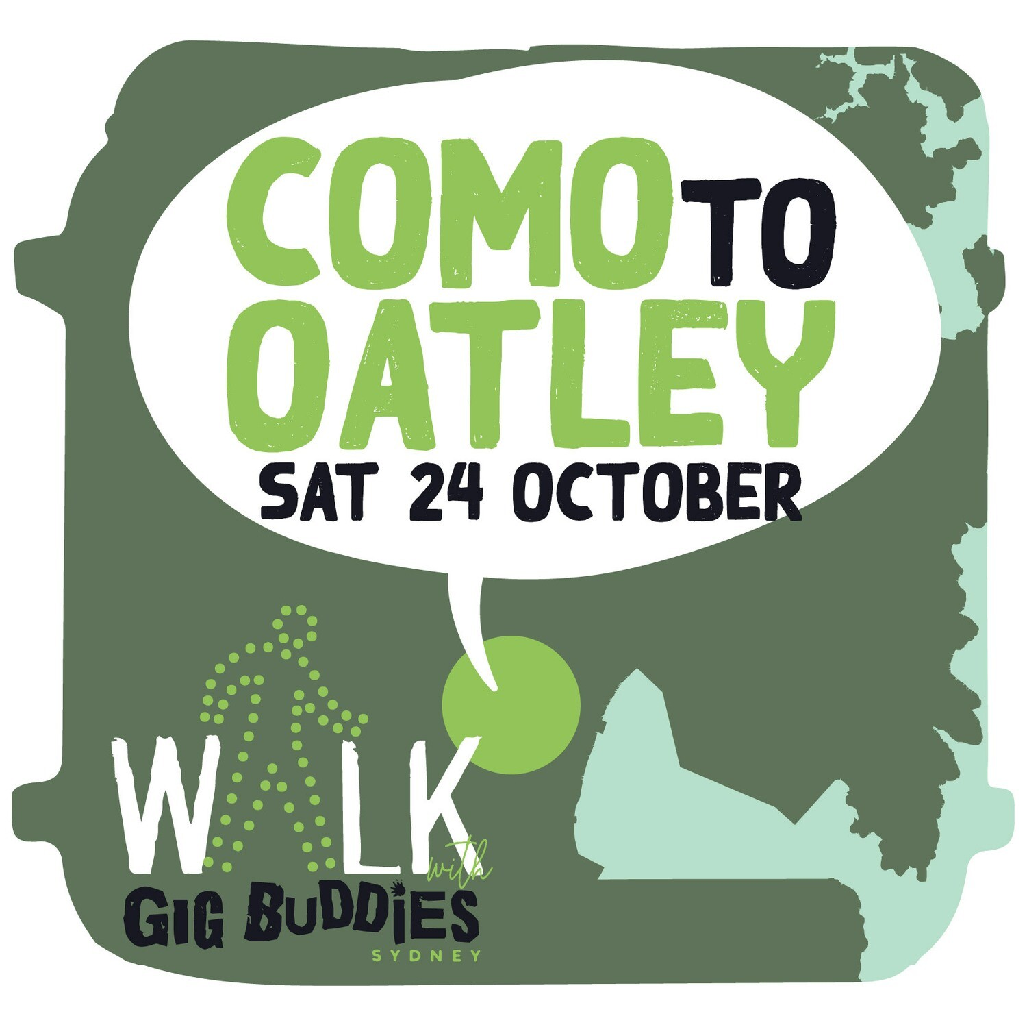 Como Train Station to Oatley Train Station - Saturday 24 October @ midday
