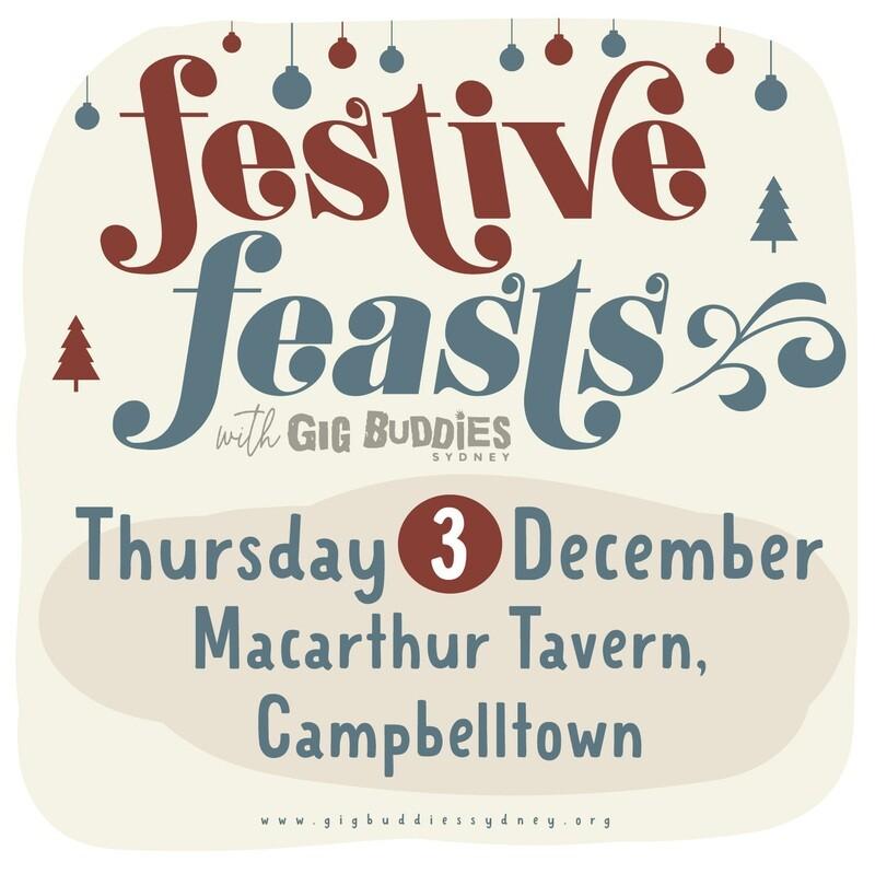 Gig Buddies Sydney's Christmas parties in the pub @ The Macarthur Tavern, Campbelltown - Thursday 3 December
