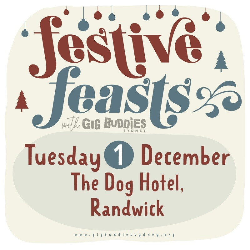 Gig Buddies Sydney's Christmas parties in the pub @ The Dog, Randwick -  Tuesday 1 December
