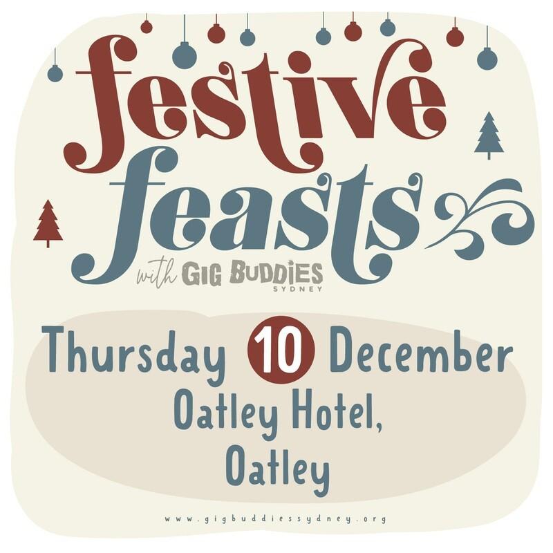 Gig Buddies Sydney's Christmas parties in the pub @ Oatley Hotel, Oatley - Thursday 10 December
