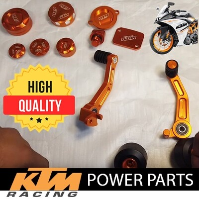 KTM RC 390 Power Parts Combo of 10 Items