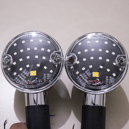3 in 1 Harley style indicators for Royal Enfield - Set of 4