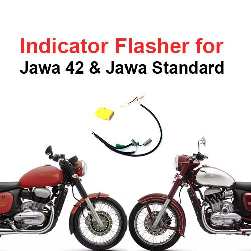 Indicator Flasher / Hazard Flasher for Jawa 42 & Jawa Standard