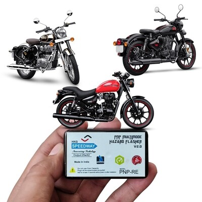 Speedway Hazard Indicator Flasher for Royal Enfield BS-4 Only.