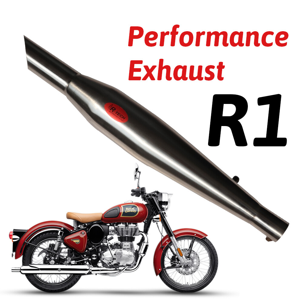 R1 Performance Exhaust Ceramic Wool Exhaust for Royal Enfield